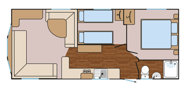 Swallow Dog Friendly Floorplan