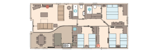 Larch Lodge Plus Floorplan