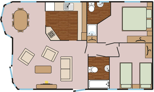 Maple Lodge Plus Floorplan